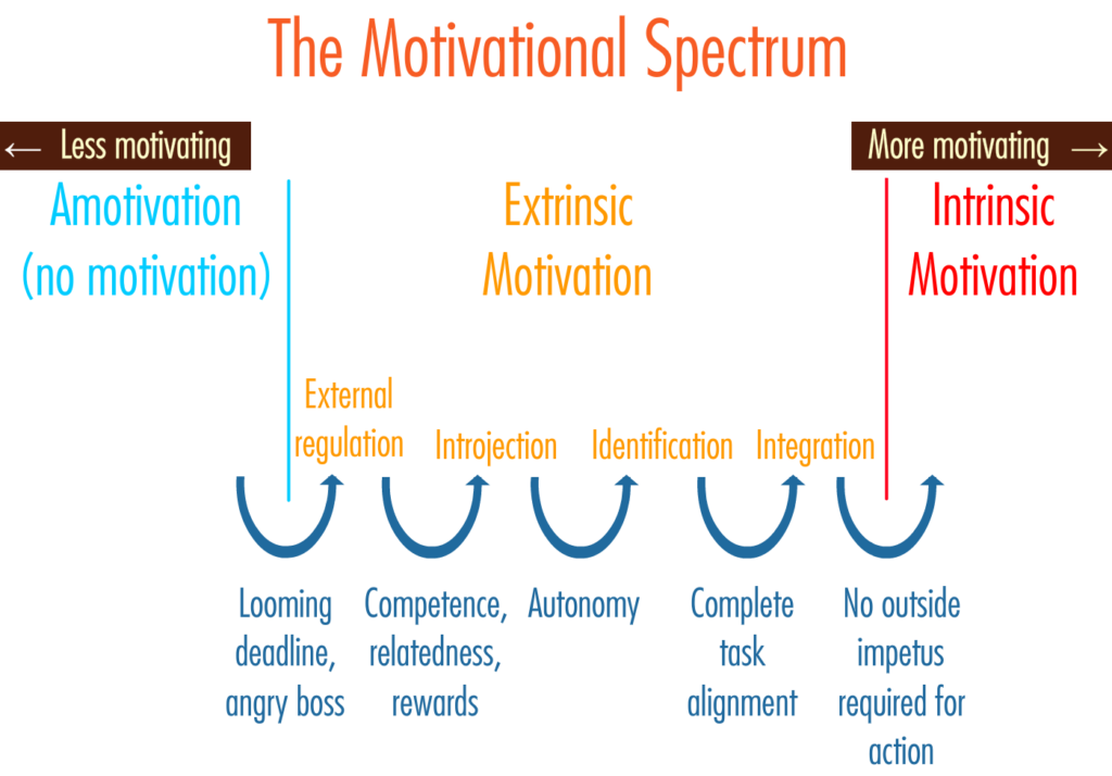 The motivational spectrum